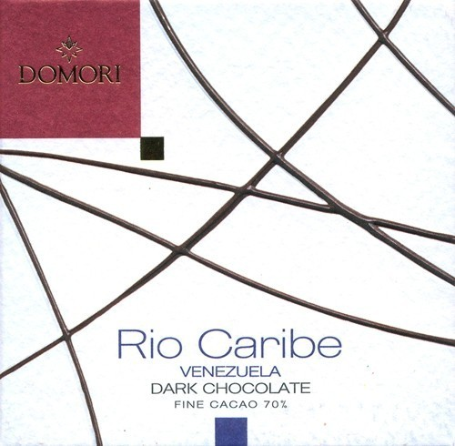 Domori Rio Caribe - packaging