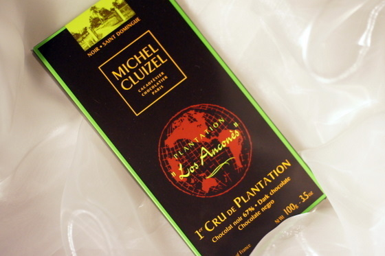 Michel Cluizel chocolate bar from Dominican Republic - Hacienda Los Ancones