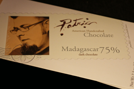 Patric American Handcrafted Chocolate Madagascar 75% Dark Chocolate Bar - photo by Lee McCoy