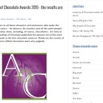 Academy of Chocolate 2015 Awards Winners - thumbnail